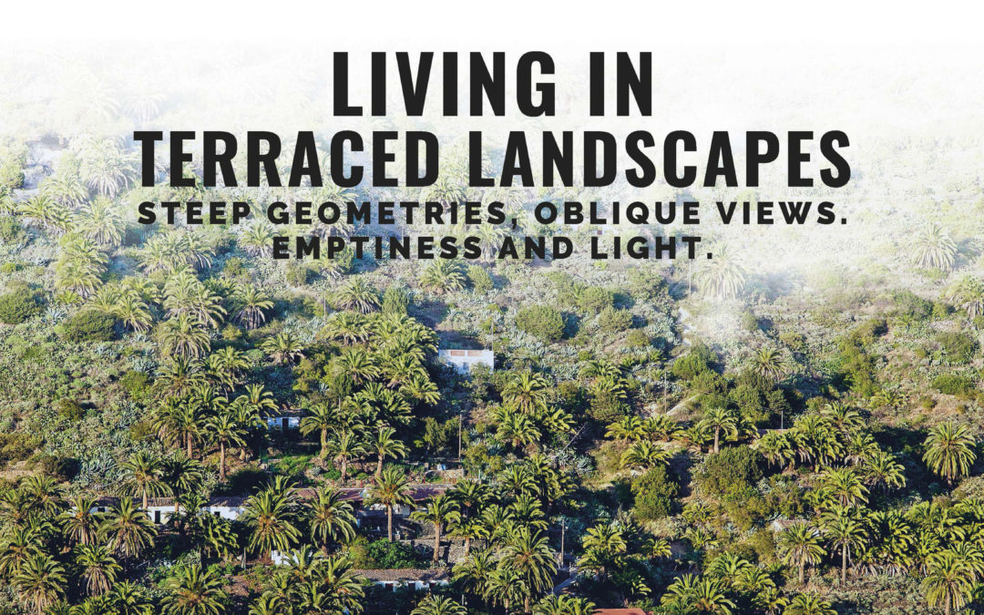 Living in terraced landscapes_steep geometries, oblique views, emptiness and light. 21-23 novembre_Università di Las Palmas di Gran Canaria